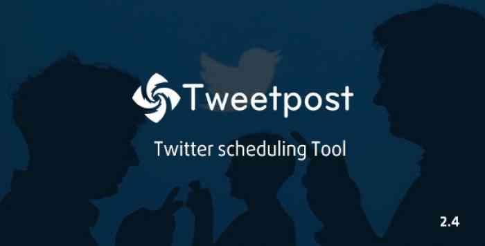 TweetPost v2.4 - Twitter Scheduling Tools
