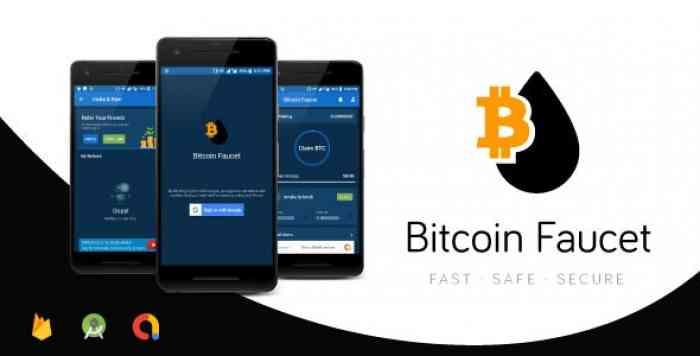 Bitcoin Faucet Full Android Application | Top Traffic Driving App | Firebase & Admob