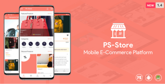 PS Store ( Mobile eCommerce App for Every Business Owner ) 1.4