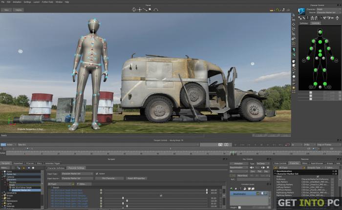 Autodesk MotionBuilder 2014 Free Download
