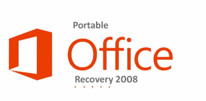 Portable Office Recovery 2008 Free Download