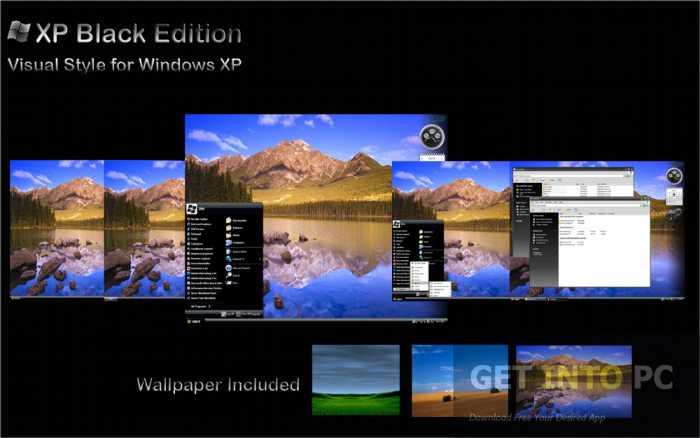 Windows XP SP3 Black Edition 2014 Free Download