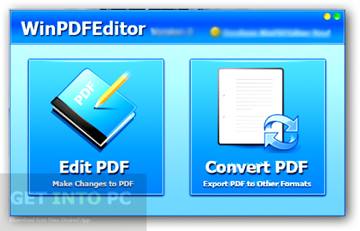 WinPDFEditor Free Download