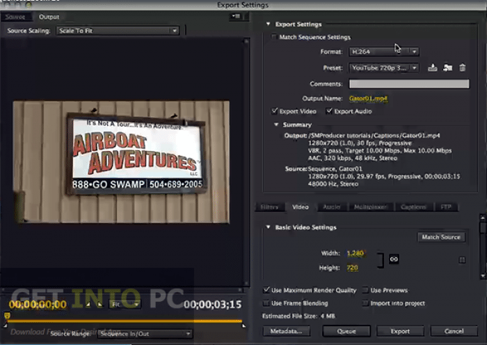 Adobe Media Encoder CC 2015 Free Download