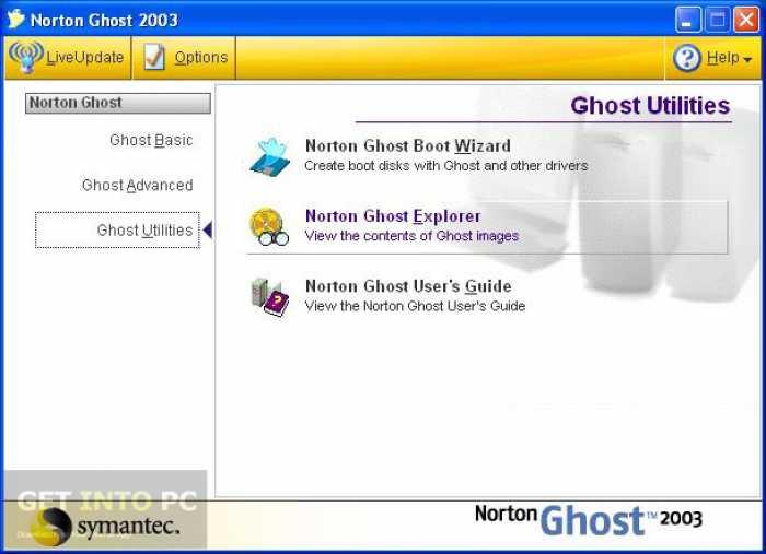 Norton Ghost 2003 Free Download