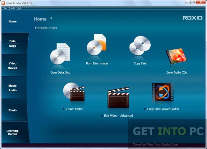 ROXIO Creator 2012 Pro Free Download