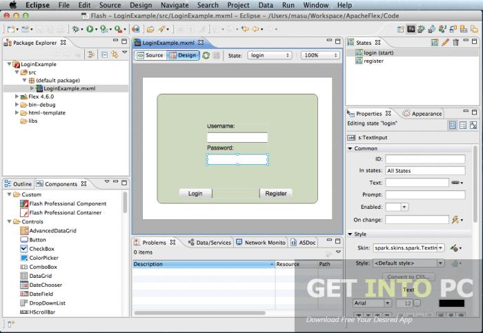 Adobe FlashBuilder 4.7 Free Download