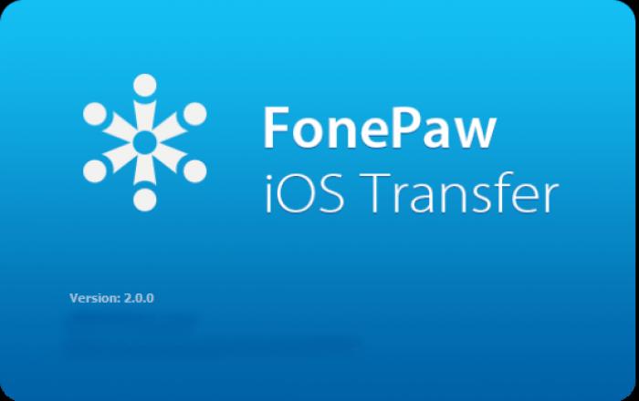 FonePaw iOS Transfer v2.0.0 Multilingual Free Download