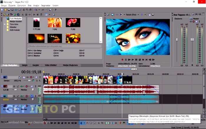 MAGIX Vegas Pro 13 Free Download