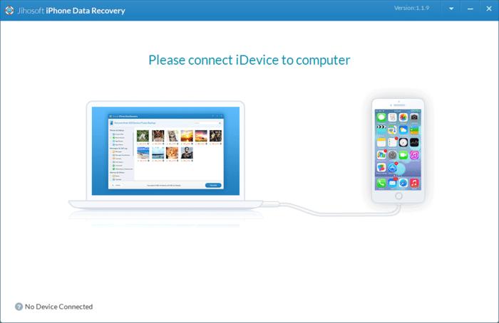 Jihosoft iPhone Data Recovery Free Download