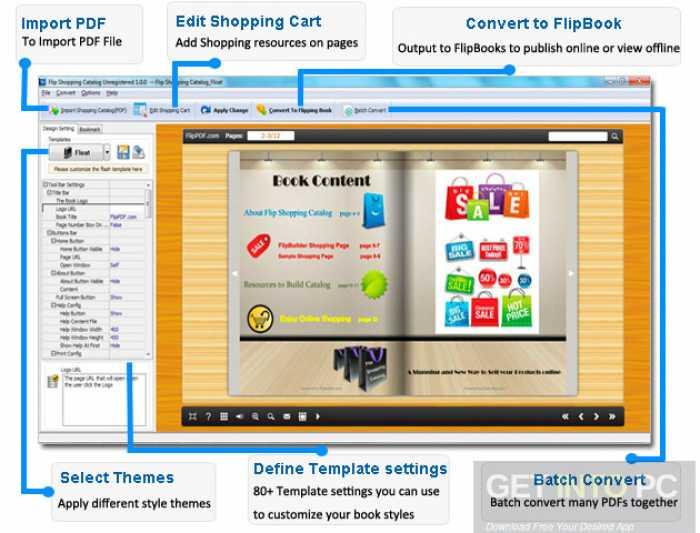 Flip Shopping Catalog 2.4.8.5 Free Download