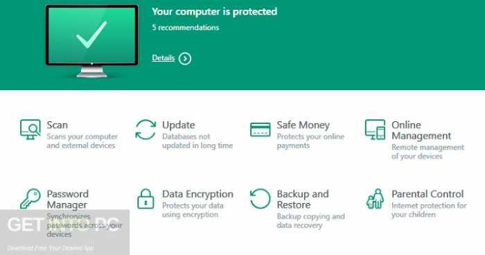 Kaspersky Anti-Virus 2017 Free Download