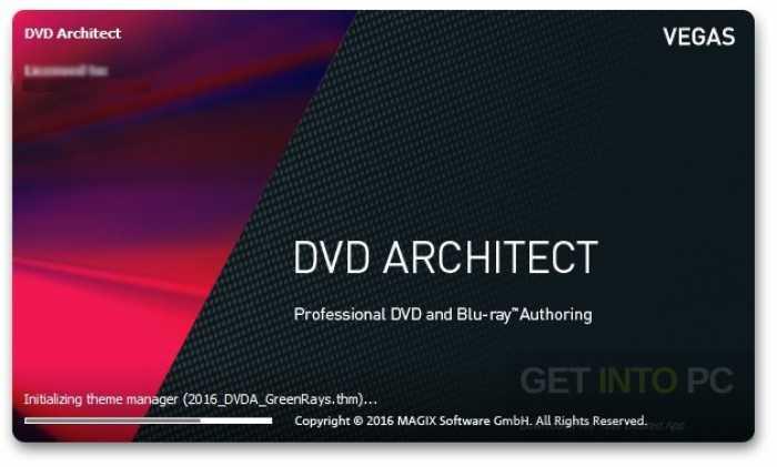 MAGIX Vegas DVD Architect 7 Free Download