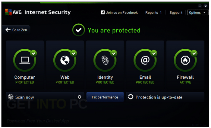 AVG Internet Security 2017 Free Download