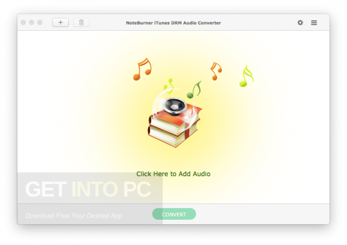 Download NoteBurner iTunes DRM Audio Converter for Mac OS