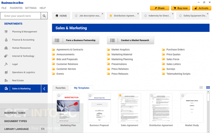 Business in a Box Templates Updated Free Download