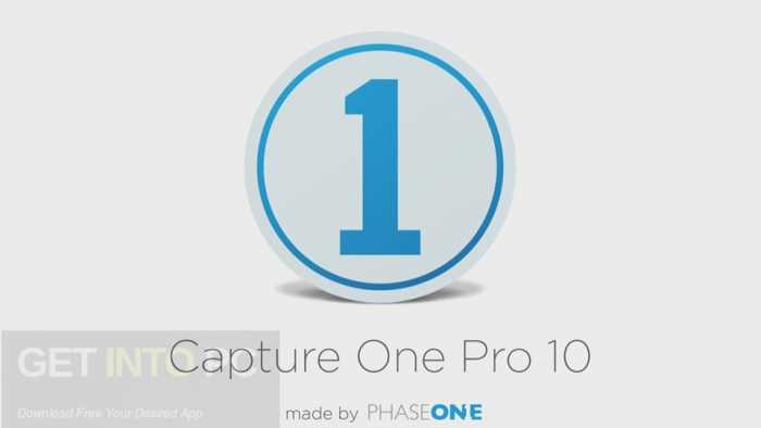 Capture One Pro 10 Free Download