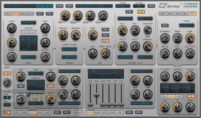 Download Reveal Sound Spire VST DMG for Mac OS X
