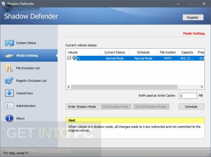 Shadow Defender 1.4.0.672 Free Download