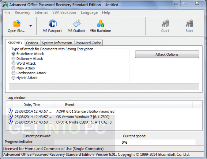 Advanced Office Password Recovery + Portable Download