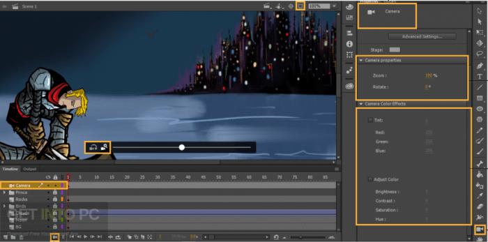 Adobe Animate CC 2018 Portable Free Download