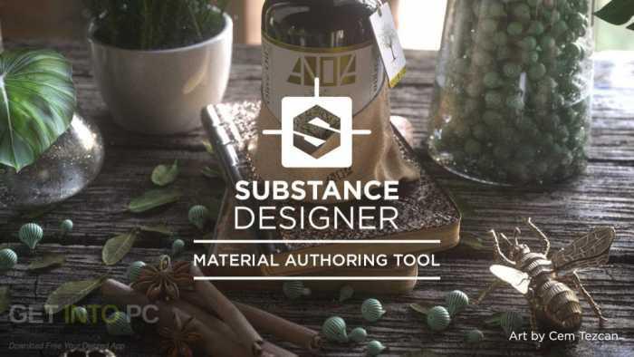 Allegorithmic Substance Designer 2017 Free Download
