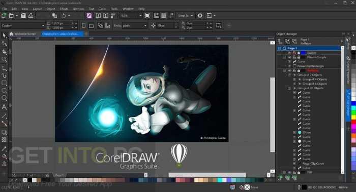 CorelDRAW Graphics Suite 2018 Free Download