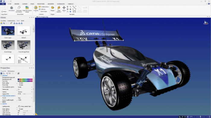 DS CATIA P3 V5-6R2017 GA SP5 x64 Free Download
