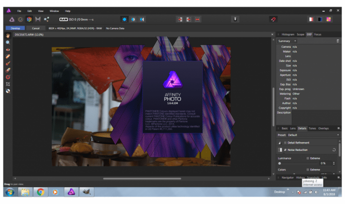 Serif Affinity Photo 1.6.4.104 Free Download