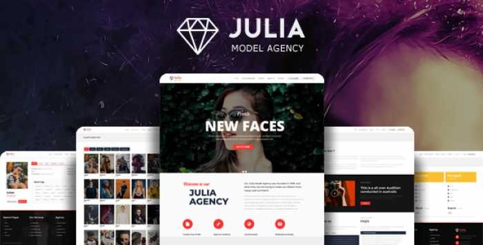 JULIA V1.7.9 – TALENT MANAGEMENT WORDPRESS THEME