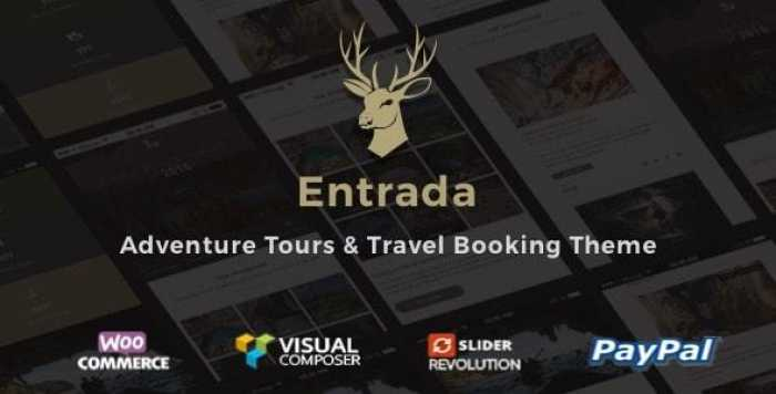 ENTRADA V3.7.8 – TOUR BOOKING & ADVENTURE TOUR