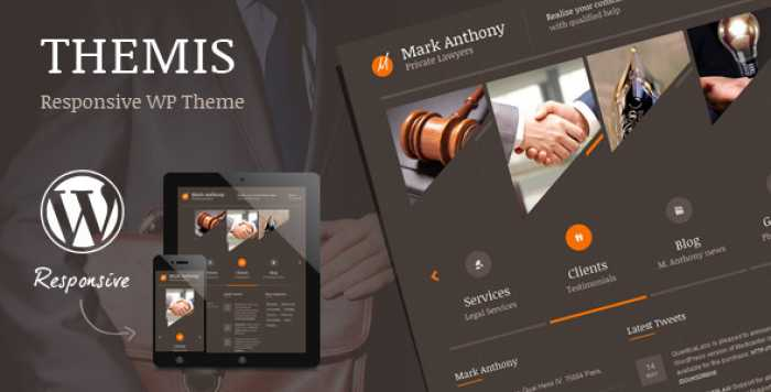 THEMIS V4.3 – LAW LAWYER BUSINESS WORDPRESS THEME