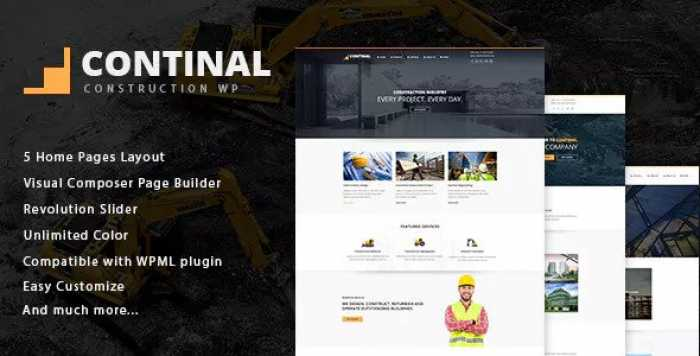 CONTINAL V1.4 – CONSTRUCTION & BUSINESS WORDPRESS THEME