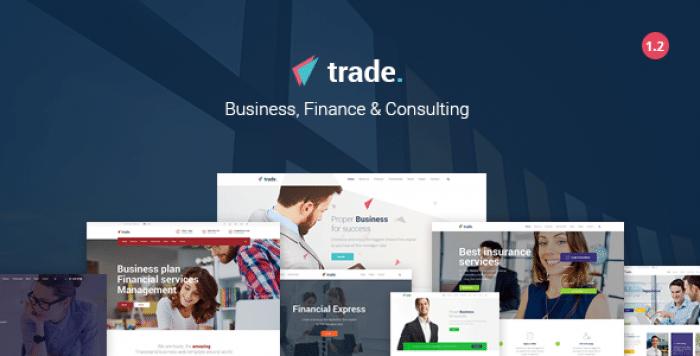 TRADE V1.2 – BUSINESS AND FINANCE WORDPRESS THEME