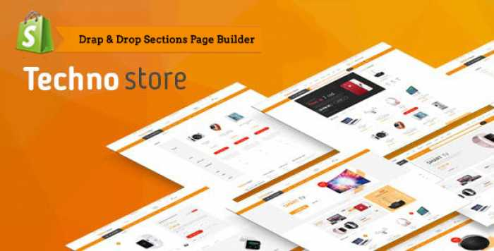 TECHNO STORE – ELECTRONIC ECOMMERCE SHOPIFY THEME