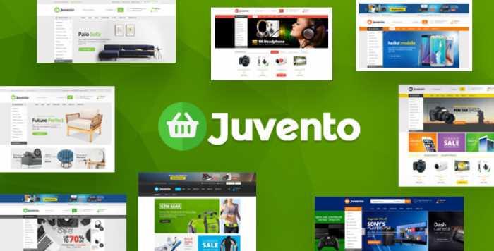 JUVENTO – RESPONSIVE PRESTASHOP THEME