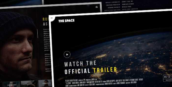 THE SPACE V1.5.3 – SINGLE FILM CAMPAIGN WORDPRESS THEME