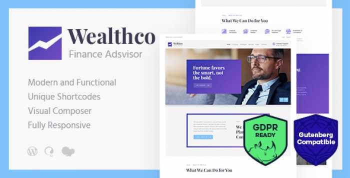 WEALTHCO V1.1 – BUSINESS & FINANCIAL CONSULTING THEME