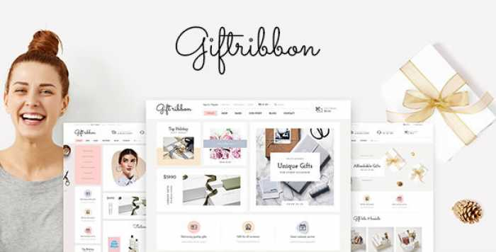 GIFT RIBBON – MODERN ACCESSORY, MINIMAL, GIFT & SOURVENIR PRESTASHOP THEME