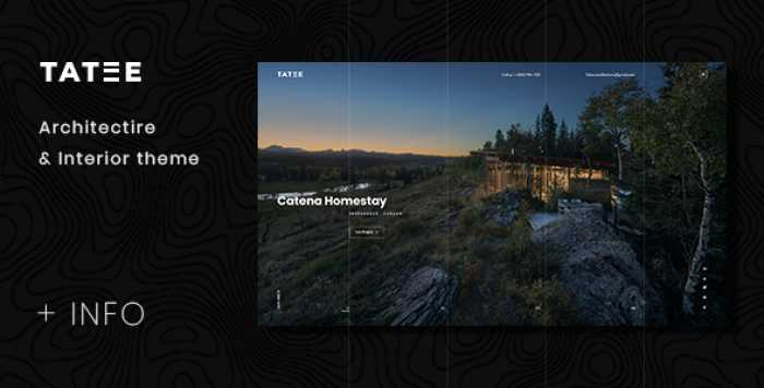 TATEE – ARCHITECTURE AND BUILDING BUSINESS PSD TEMPLATE