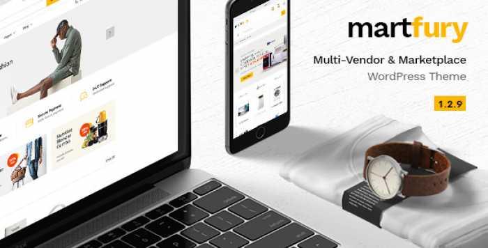 MARTFURY V1.2.9 – WOOCOMMERCE MARKETPLACE WORDPRESS THEME