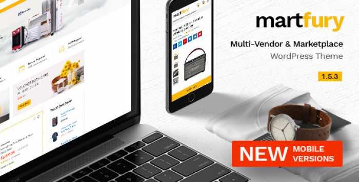 MARTFURY V1.5.3 – WOOCOMMERCE MARKETPLACE THEME