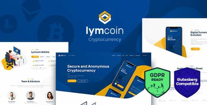 LYMCOIN V1.2 – CRYPTOCURRENCY & ICO WORDPRESS THEME
