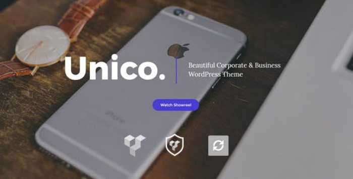 UNICO V1.0 – CREATIVE & BUSINESS WORDPRESS THEME