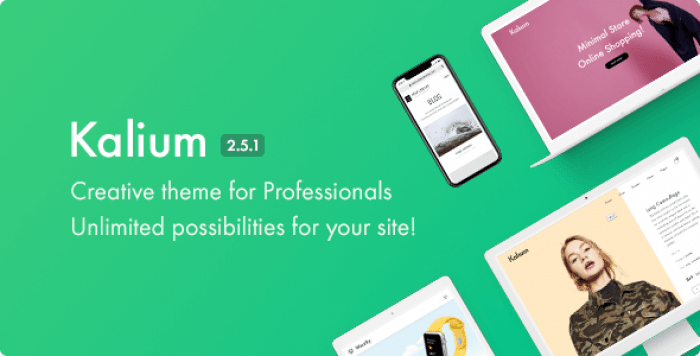 KALIUM V2.5.1 – CREATIVE THEME FOR PROFESSIONALS