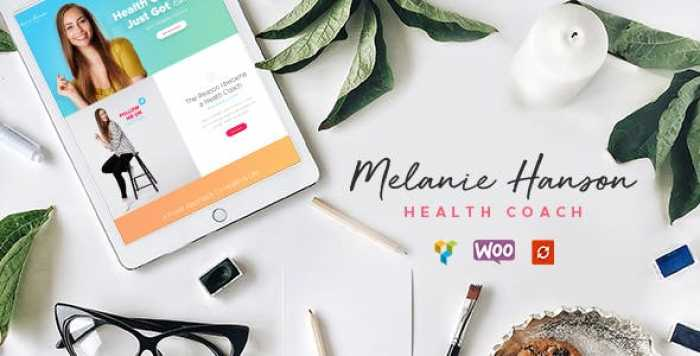 HEALTH COACH BLOG & LIFESTYLE MAGAZINE THEME V1.3