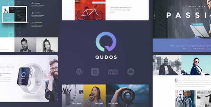 QUDOS V1.0.6.2 – MULTI-PURPOSE ELEMENTOR WORDPRESS THEME
