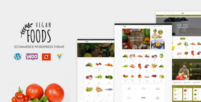 VEGAN FOOD V5.2.3 – ORGANIC STORE, FARM RESPONSIVE THEME