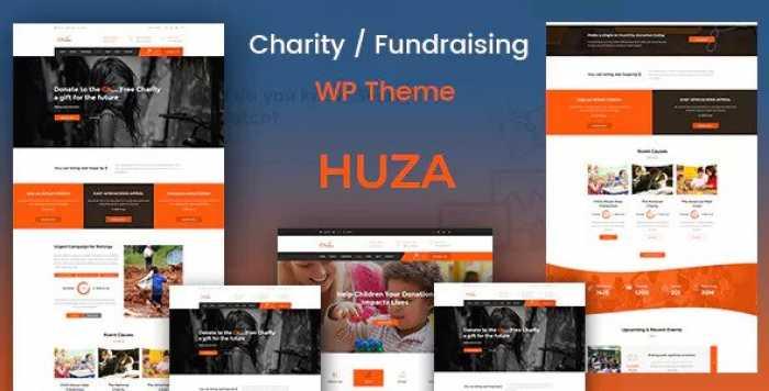 HUZA V1.4 – CHARITY/FUNDRAISING RESPONSIVE THEME