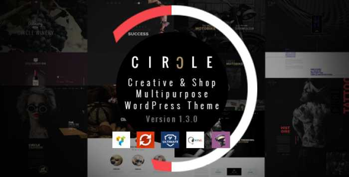 CIRCLE V1.3.6 – CREATIVE SHOP MULTIPURPOSE WORDPRESS THEME